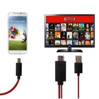 Cáp HDMI Kết Nối Từ Điện Thoại Sang TiVi FULL HD Thiết Kế Mới