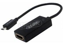 Cáp Slimport to HDMI Unitek Y-6304 dùng cho điện thoại LG Nexus 4, 5, 7, G Pro, G2, G Pad, Asus Fonepad, HP Chromebook