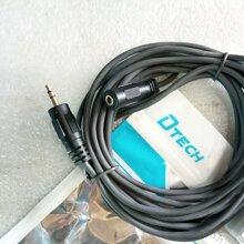 Cáp Audio 3.5mm nối dài 5m Dtech DT-6217