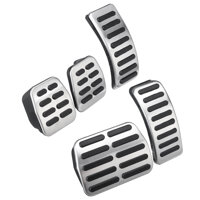 Car Pedal Pad Stainless Steel Pads Foot For VW Polo Golf 4 Bora Beetle RSi GTI R32/ Audi A3 Seat Leon 1M Toledo 1L
