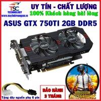 Card Màn Hình ASUS GTX 750Ti 2G/ DDR5/ 128BIT - Chơi GTA 5 DOTA PUBG