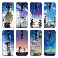 Cartoon TPU Case For OPPO F11 Pro / R19 / Realme 2 / A5 / A3S Couple Starry Sky Back Cover Soft Silicone Casing
