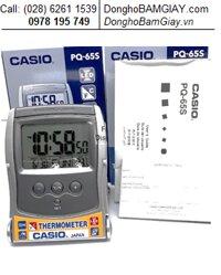 Casio PQ-65S-8DF; Dong ho bao thuc Casio PQ-65S-8DF, co bao nhiet do (BH 1 nam)