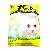 Cát Vệ Sinh Cho Mèo Hellocat Mùi Chanh 10 Lít/7kg