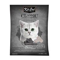 Cát Vệ Sinh Mèo Thủy Tinh Than Kitcat 5L