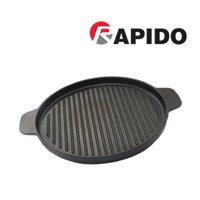 Chảo gang nướng tròn dung cho bếp từ Rapido 26cm