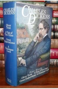 Charles Dickens Four Novels: Oliver Twist, A Tale of Two Cities, Great Expectations, A Christmas Carol