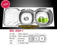 Chậu rửa chén inox 304 Toàn Mỹ ASH-1