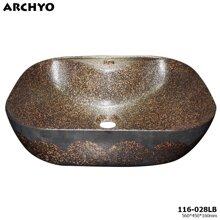 Chậu sứ đặt bàn ARCHYO 116-028LB