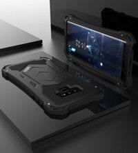 Cho Samsung Galaxy Note 10 9 Bao Kim Loại Nhôm Vỏ Giáp Bảo Vệ Dành Cho Samsung S10 Plus 5G Nặng Ốp Lưng Điện Thoại Chống Sốc
