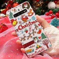 Chúc Giáng Sinh TPU Trường Hợp Cho Samsung Galaxy Note 10 S8 S9 S10 Plus 9 8 S6 S7 Edge M10 M20 M30 A70 A80 a50 A30 A40 A60 A20e Ốp Lưng