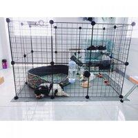 Chuồng nuôi thú cưng chó, mèo, chuột, sóc, thỏ lắp ghép tại nhà