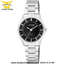 Đồng hồ nữ dây thép không gỉ Citizen Quartz ER0200