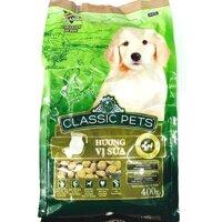 Classic Pets Puppy 400g - Golden shops- Thức ăn cho chó con- Vị sữa