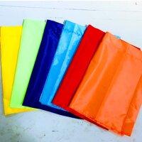 Cờ Phướn, cờ chuối 6 màu size 65x180cm, vải Ka-tê, 1 bộ