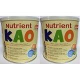 combo 2 hộp Nutrient KAO 700 gr : sữa tăng chiều cao cho trẻ 1 – 6 tuổi