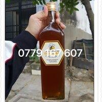 Combo 8 chai thủy tinh vuông 1lit (1000ml)