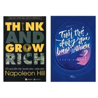 Combo Think And Grow Rich - 13 Nguyên Tắc Nghĩ Giàu Làm Giàu  Tuổi Trẻ Đáng Giá Bao Nhiêu Trọn Bộ 2 Cuốn Tuổi Trẻ và Kỹ Năng Làm Giàu Tặng Kèm Bookmark Green Life