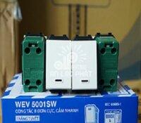 Công tắc điện Panasonic B đơn cực Wide WEV5001-7SW bắt vít