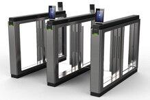 Cổng xoay bật ngang nhận diện khuôn mặt và thẻ HIKVISION DS-K3B801-L/MPg-Dp90(O-STD)