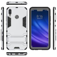 Cool Guard Plastic + TPU Hybrid Phone Shell with Kickstand for Huawei Y9 (2019) / Huawei Enjoy 9 Plus