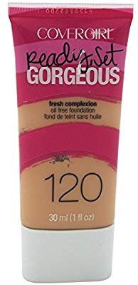 COVERGIRL Ready Set Gorgeous Foundation Nude Beige 120, 1 oz (packaging may vary)
