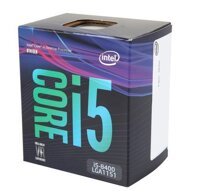 CPU Intel Core i5 8400 (Up to 4.0Ghz/ 9Mb cache) Coffee Lake |