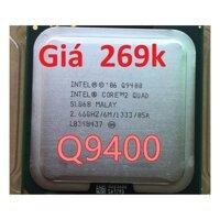 CPU Q9400 #q9400 chip Q9400 quad core 95