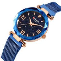CURREN 9063 Elegant Design Romantic Sky Dial Women Watch