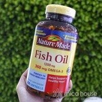 Dau ca Nature Made Fish Oil 1200mg Omega 3