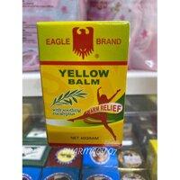 Dầu cù là vàng con ó eagle brand yellow balm 40g
