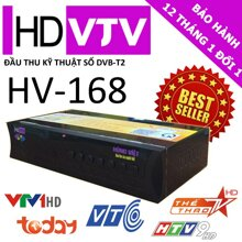 Đầu thu kỹ thuật số DVB T2 Hùng Việt HV-168