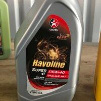 dầu nhớt Caltex Havoline 15w40