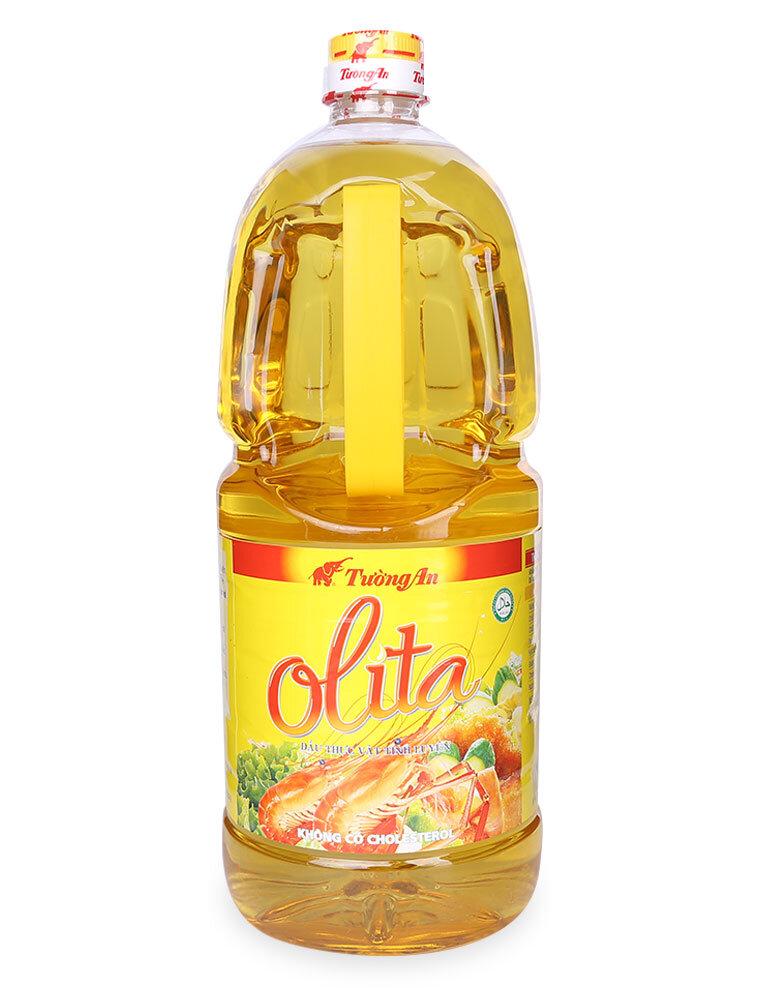 Dầu thực vật tinh Olita Tường An chai 1 lít
