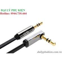 Cáp Audio 3.5mm bẻ góc 90 độ Ugreen 10599 2m