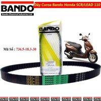 Dây Curoa Honda Lead / SCR 110 Hiệu Bando Thái Lan