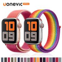 Dây Đeo Nylon Thoáng Khí Uonevic Cho Apple Watch Series 5 4 3 2 1 40Mm 42Mm 44Mm LazadaMall