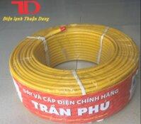 Dây Điện Trần Phú Loại Một 2x2.5 Cuộn 100M [bonus]