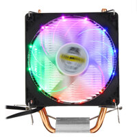 DC 12V 3Pin Colorful Backlight 90mm CPU Cooling Fan PC Heatsink Cooler for Intel/AMD For PC Computer Case