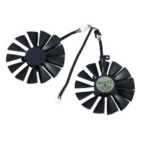 DC12V 95MM T129215SM Video Card Cooler Image Card Cooling Fan for ASUS STRIX RX470 RX570 RX580 GTX 1050Ti GTX1070TI 4Pin 13 Blade