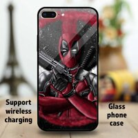 Deadpool_s_New Custom Tempered Glass Phone Case For Apple iPhone 11 Pro MAX 6 6S 7 8 Plus XR XS Samsung Galaxy note S9 S10+ Huawei Mate P20 P30 OPPO Vivo Xiaomi Redmi Note 7