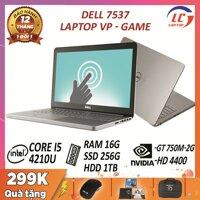 Dell Inspiron 7537 core i5-4210U card rời NVIDIA GT 750M-2G màn 15.6″ HD - laptop giá rẻ