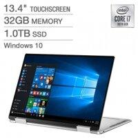 Dell XPS 13 2-in-1 Touchscreen - 10th Gen Intel Core i7-1065G7 - 4K Ultra HD