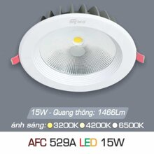 Đèn led âm trần Anfaco AFC-529A - 15W