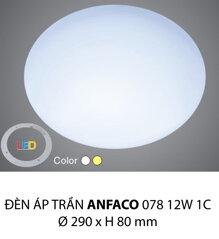 Đèn led âm trần Anfaco AFC 078 - 12W LED