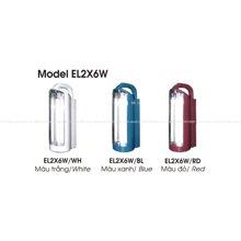 Đèn tích điện Lioa EL2X6W - 12W