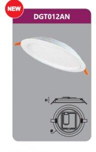 Đèn Led âm trần Duhal DGT012AN - 12W