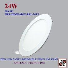 Đèn led MPE Panel Dimmable - 24W