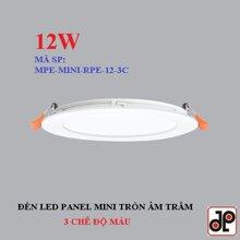 Đèn LED Panel mini 3 màu RPE-12/3C