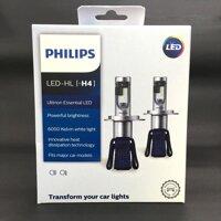 Đèn Pha LED H4 Philips Ultinon Essential Siêu Sáng + 100% [bonus]